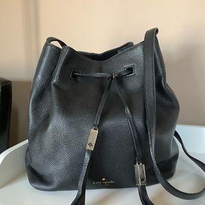 Kate Spade large cooper leather bucket Bag